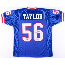 "Lawrence Taylor Signed Giants Jersey Inscribed ""HOF 99"" (Radtke COA)"