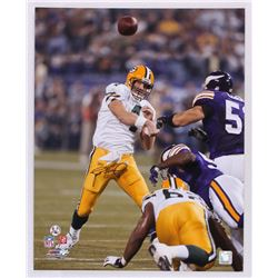 Brett Favre Signed Packers 16x20 Photo (Favre COA)