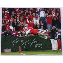 Tony Taylor Signed Georgia 8x10 Photo (Radtke Hologram)