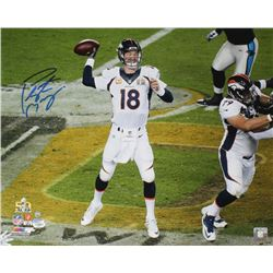 Peyton Manning Signed Broncos Super Bowl 50 16x20 Photo (Steiner COA  Fanatics Hologram)