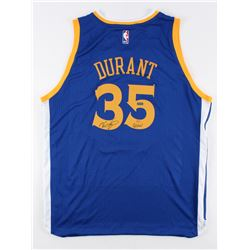 """Kevin Durant Signed LE Warriors Authentic Adidas Swingman Jersey Inscribed """"GSW"""" (Panini COA)"""