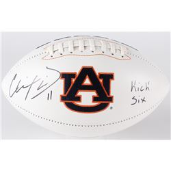 "Chris Davis Jr. Signed Auburn Logo Football Inscribed ""Kick Six"" (Radtke COA)"