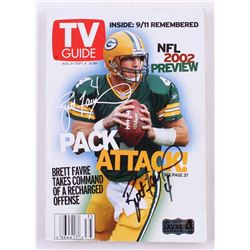 Brett Favre Signed TV Guide Magazine (Favre Hologram)