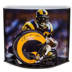 "Eric Dickerson Signed LE Rams Full-Size Authentic Pro-Line Helmet Inscribed ""HOF 99""  ""2105 YDs"" Wit"
