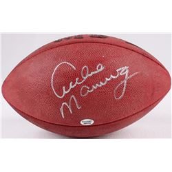 Archie Manning Signed Official NFL Game Ball (Radtke COA)
