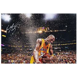 "Kobe Bryant Signed LE Lakers ""Champion"" 16"" x 24"" Photo (Panini COA)"