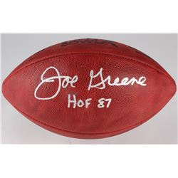 "Joe Greene Signed Official Super Bowl X Game Ball Inscribed ""HOF 87"" (Radtke COA)"
