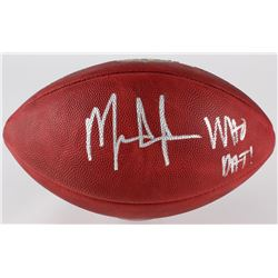 "Mark Ingram Signed ""The Duke"" NFL Official Game Ball Inscribed ""Who Dat"" (Ingram Hologram)"