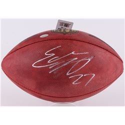 "Eddie Lacy Signed ""The Duke"" NFL Official Game Ball (Lacy Hologram)"