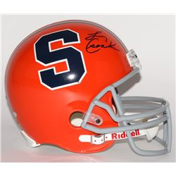 Larry Csonka Signed Syracuse Orange Full-Size Helmet (Steiner COA)