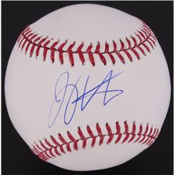 Joey Votto Signed OML Baseball (MLB Hologram)