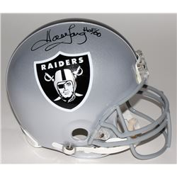 "Howie Long Signed LE Raiders Full Size Authentic Pro-Line Helmet Inscribed ""HOF/00"" (Steiner COA)"