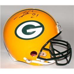 Mike McCarthy  Charles Woodson Signed Packers Full-Size Authentic Helmet (JSA COA)