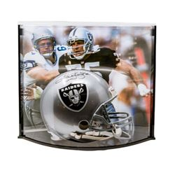 "Howie Long Signed LE Raiders Full Size Authentic Pro-Line Helmet Inscribed ""HOF/00"" with Curve Displ"