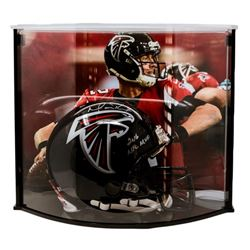 """Matt Ryan Signed Falcons Full-Size Authentic Pro-Line Helmet Inscribed """"2016 NFL MVP"""" with Curve Dis"""