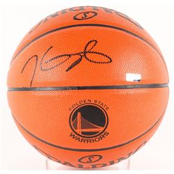 Kevin Durant Signed Golden State Warriors Logo Basketball (Panini COA)