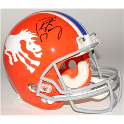 Peyton Manning Signed Broncos Throwback Full-Size Authentic Helmet (Fanatics Hologram)