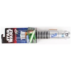 "Mark Hamill Signed Star Wars ""Luke Skywalker"" Green Lightsaber (Radtke COA)"