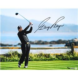 "Gary Player Signed LE ""Tee Shot on 18"" 16x20 Photo (UDA COA)"