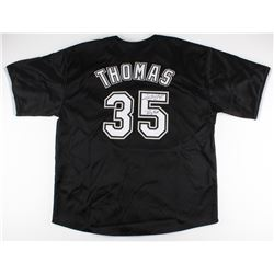 "Frank Thomas Signed White Sox Jersey Inscribed ""Big Hurt"" (JSA COA)"