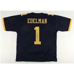 Julian Edelman Signed Kent State Golden Flashes Jersey (JSA COA)
