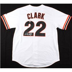 Will Clark Signed Giants Majestic Jersey (MLB Hologram)