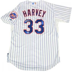 Matt Harvey Signed Mets Jersey (Steiner COA  MLB Hologram)