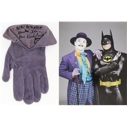 "Jack Nicholson Signed  Screen Worn Glove as ""The Joker"" from Batman (1989) (Assistant Provenance LOA"
