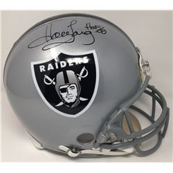 "Howie Long Signed LE Raiders Full-Size Authentic Proline Helmet Inscribed ""HOF 00"" (Steiner COA)"