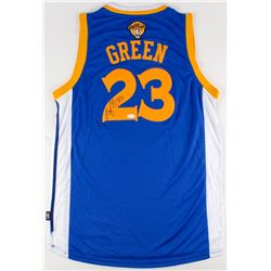 Draymond Green Signed Warriors Jersey (JSA COA)