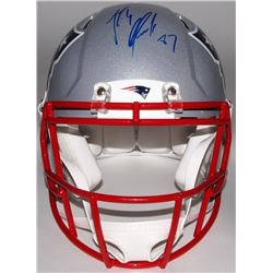 Rob Gronkowski Signed Patriots Full-Size Authentic On-Field Helmet (Steiner COA)