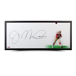 "Joe Montana Signed ""The Show"" 20x46 Custom Framed Photo (UDA COA)"