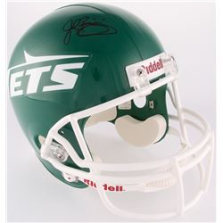 John Riggins Signed Jets Throwback Full-Size Helmet (Steiner COA)