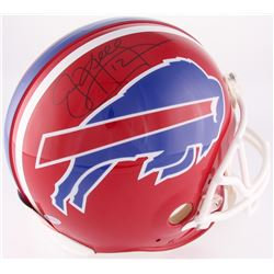 Jim Kelly Signed Bills Full-Size Authentic On-Field Helmet (Beckett Hologram)