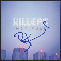 "Brandon Flowers Signed The Killers ""Hot Fuss"" CD Booklet (JSA COA)"