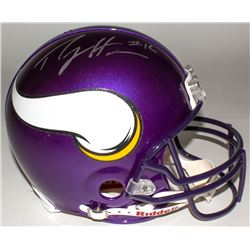 Percy Harvin Signed Vikings Full-Size Authentic On-Field Helmet (Harvin Hologram)