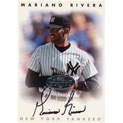 1996 Leaf Signature Autographs #195 Mariano Rivera