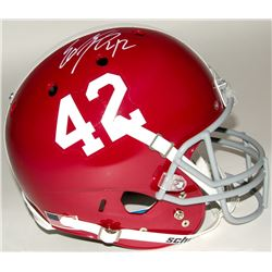 Eddie Lacy Signed Alabama Full-Size Helmet (Lacy Hologram)