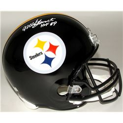 "Mel Blount Signed Steelers Full-Size Helmet Inscribed ""HOF 89"" (Radtke COA)"