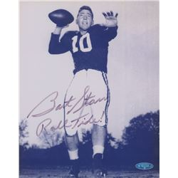 "Bart Starr Signed Alabama Crimson Tide 8x10 Photo Inscribed ""Roll Tide!"" (TriStar)"