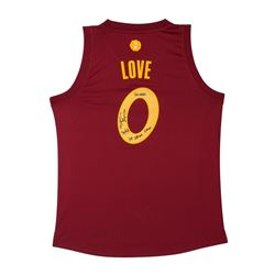 "Kevin Love Signed Cavaliers Limited Edition Jersey Inscribed ""20/6/3""  ""109-108 win Xmas"" (UDA)"