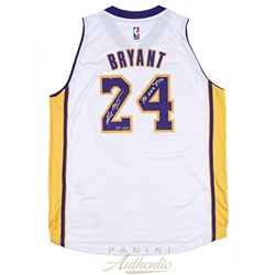 "Kobe Bryant Signed Limited Edition Lakers Adidas Authentic Swingman Jersey Inscribed ""33,643 PTS"" (P"