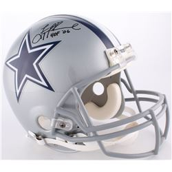 "Troy Aikman Signed Cowboys Full-Size Authentic On-Field Helmet Inscribed ""HOF '06"" (Aikman Hologram)"