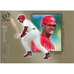 2001 Fleer Legacy Ultimate #102 Albert Pujols RC #40/250