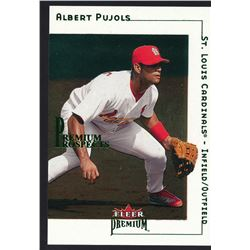 2001 Fleer Premium #233 Albert Pujols RC #76/1999