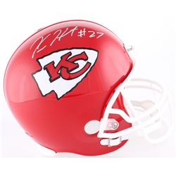 Kareem Hunt Signed Chiefs Full-Size Helmet (Hunt Hologram)