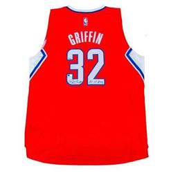 "Blake Griffin Signed Clippers Limited Edition Jersey Inscribed ""10-11 ROY"" (Panini COA)"