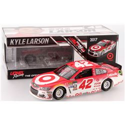 Kyle Larson Signed NASCAR #42 Target 2017 SS 1:24 Limited Edition Premium Action Die Cast Car (PA CO