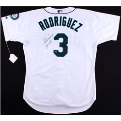 "Alex Rodriguez Signed Mariners Game-Used Jersey Inscribed ""Game Used"" (A10 Mears LOA)"