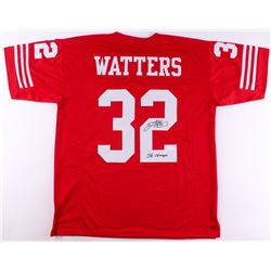 "Ricky Watters Signed 49ers Jersey Inscribed ""SB Champs"" (JSA COA)"